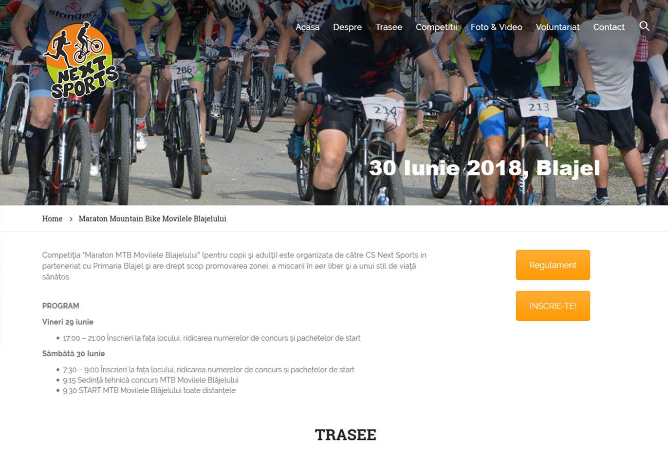Maratonul MTB Blajel – 30 Iunie 2018